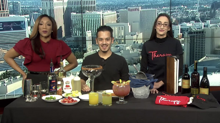 Therapy on Channel 3 for National Margarita Day